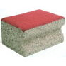 KUU-Hard Cork/Red Felt other side fluoro powder