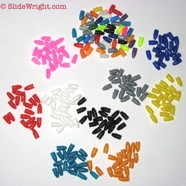 Plastic Binding Hole Plugs
