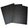 Premium Silicon Carbide Wet/Dry Paper(Black)-60 grit 3-sheets