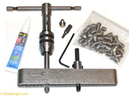 SlideWright 5mm SS Threaded Insert Installation Kit-Inserts & Guide