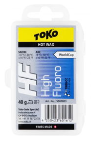 Toko HF High Fluoro Hot Wax Blue 40g